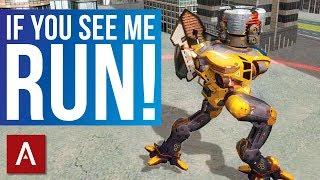 Download War Robots: Hellburner Ancile Ecu MK2 Gameplay | Deadliest Robot Without Weapons Video