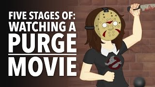 Download Five Stages of Watching a Purge Movie Video