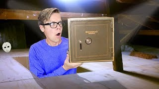 Download Found New Mysterious SAFE above our House! (Clues & GAME MASTER Plans into Underground Tunnel) Video