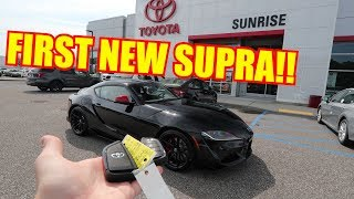 Download Taking Delivery of my TOYOTA SUPRA!! Video