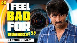 Download I feel bad for Bigg Boss | In Conversation with Karthik Kumar | Open Pannaa Video