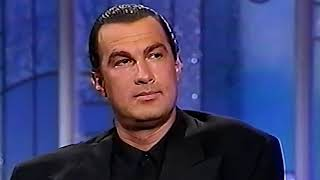 Download What STEVEN SEAGAL says about VAN DAMME and other action stars [HD] Video