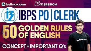 Download IBPS PO   Clerk English Class With Nitin Sir   50 Golden Rules of English + Important Questions! Video