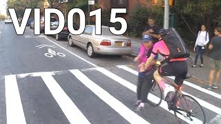 Download VID015 - Pedestrian gets hit, cyclists talk, cops Video