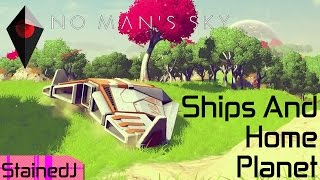 Download No Man's Sky Ships and Home Planet Video