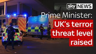 Download Theresa May: UK's terror threat level raised to critical after Manchester Attack Video