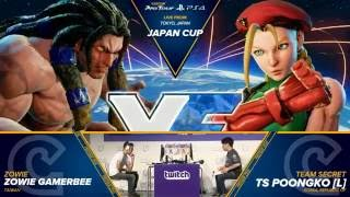 Download SFV: Zowie Gamerbee vs TS Poongko - Japan Cup 2016 Grand Final - CPT 2016 Video