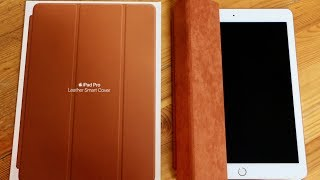 Download Apple 10.5-inch iPad Pro Leather Smart Cover: Unboxing/Review Video