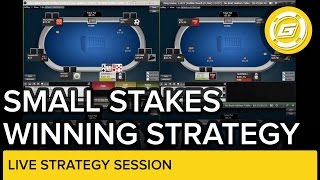 Download Small Stakes Winning Strategy Session | NLH Video