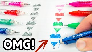 Download THEN vs NOW! Cool School Supplies You Need To Try 2017! Natalies Outlet Video