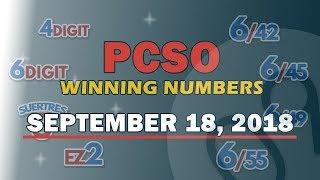 Download P650M Ultra Lotto 6/58, EZ2, Suertres, 6Digit, Lotto 6/42, Superlotto 6/49 Draw | September 18, 2018 Video