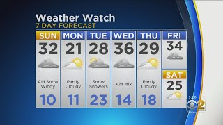 Download CBS 2 Weather Watch 5 P.M. 2-23-19 Video