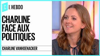 Download Charline Vanhoenacker face aux politiques - C l'hebdo - 18/03/2017 Video