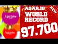 Download ★ 97.700 SCORE ★ NEW WORLD RECORD ★ Agar io SPEEDY RAINBOW MODE !! Video