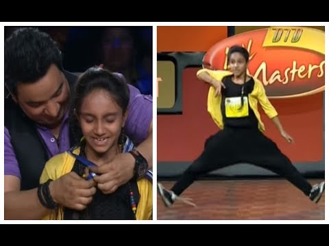 AWESOME Performance by Rajvi - DID L'il Masters Season 3 - Delhi Auditions