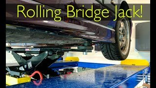 Download REMOVING WHEELS on a 4 post LIFT! Video