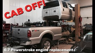 Download 2015 Powerstroke Engine upgrade! | CAB OFF of the 2011 Ford F350! Video