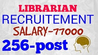 Download Government Jobs for Librarian SALARY-77000, 2017 Video