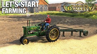 Download LET'S START FARMING! | Farmer's Dynasty | Ep 4 Video