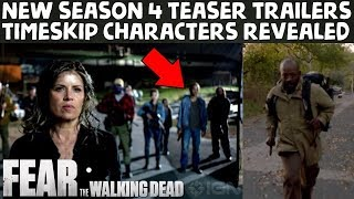 Download FearTWD Season 4 Multiple NEW Promo Teaser Trailers Explained! Video