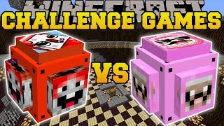 Download Minecraft: EXPLODINGTNT VS PINK SHEEP CHALLENGE GAMES - Lucky Block Mod - Modded Mini-Game Video