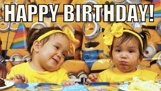 Download Miya and Keira's Minion Birthday Party! - March 05, 2016 - ItsJudysLife Vlogs Video