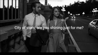 Download Ryan Gosling & Emma Stone / City of stars / Lyrics Video