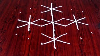 Download How To Rangoli Designs With 7-4 Dots Geethala Geethala Muggulu With Dots Video