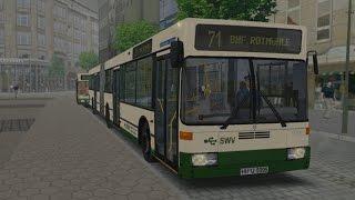 Download OMSI 2. Map Gehrten, Route 71, Mercedes-Benz O405 GN2 Video