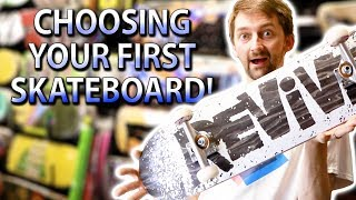 Download CHOOSING YOUR FIRST SKATEBOARD | SKATE SHOP EDITION Video