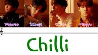 Download SEVENTEEN (세븐틴) - 'CHILLI' (칠리) (Hip - Hop Team)(Color Coded Lyrics Eng/Rom/Han/가사) Video
