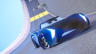 Download CARS 3 WALL RIDE PARKOUR CHALLENGE (Jackson Storm) Video