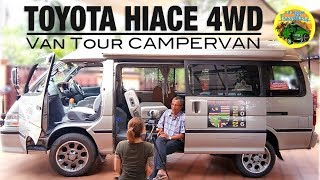 Download Malaysian Man Drives to UK in a Toyota Hiace 4WD Campervan   #VANTOUR Video