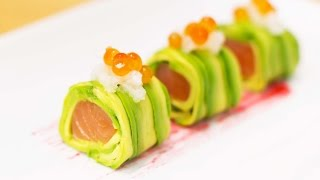 Download How to Make Alaskan Avocado Roll Video