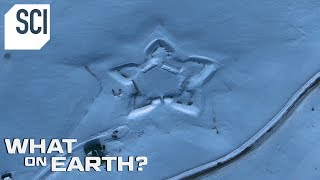 Download What's Behind this Giant Star in the Snow? | What On Earth? Video