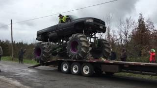 Download CUMMINS MEGA MUD TRUCK SAVES US ALL!! Video