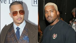 Download TI Says Kanye West Really Does Want To Be President Video