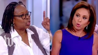 Download Watch the screaming match between Whoopi Goldberg and Judge Jeanine Video