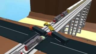 Download Roblox Trucks vs Trains Game Trailer Video