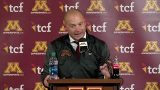 Download Press Conference: Coach Fleck on 41-10 Win Over Purdue Video