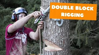 Download Double block rigging | Tree rigging systems Video