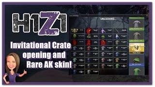 Download H1Z1 - Invitational Crate opening / Rare AK skin! Video