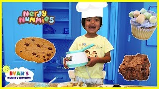 Download Kids Fun Baking Cookies and Brownie with Ryan's Family Review Video