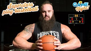 Download WWE Superstar basketball shootout: WWE Game Night Video