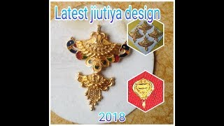 Download jiutiya design!! Gold Jitiya Golden jewellary Video