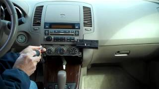 Download How to Nissan Altima Bose Car Stereo Radio Removal 2005 - 2006 replace repair Video