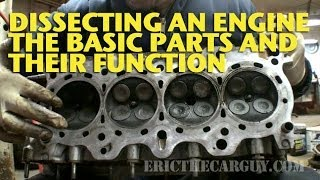 Download Dissecting an Engine, The Basic Parts and Their Functions - EricTheCarGuy Video