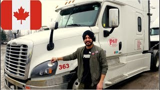 Download Canada Truck Driver Punjabi (Toronto to Michigan) Video
