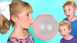 Download Making Our Own Bubble Gum!!! Video