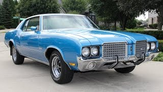 Download 1972 Oldsmobile Cutlass For Sale Video